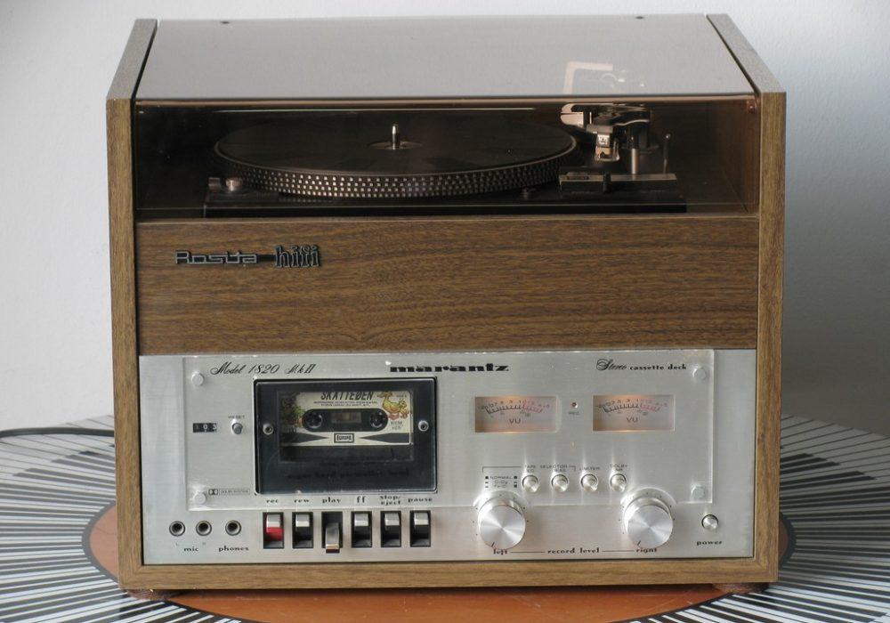 Rosita PC5000 一体机(Dual 1239A 黑胶唱机 + 马兰士 Marantz 1820mkII 卡座)