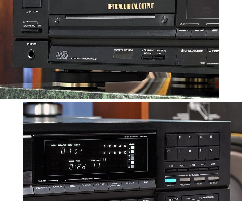 建伍 KENWOOD DP-1100SG CD播放机