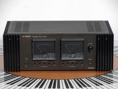安桥 ONKYO M-8000 大表头功率放大器