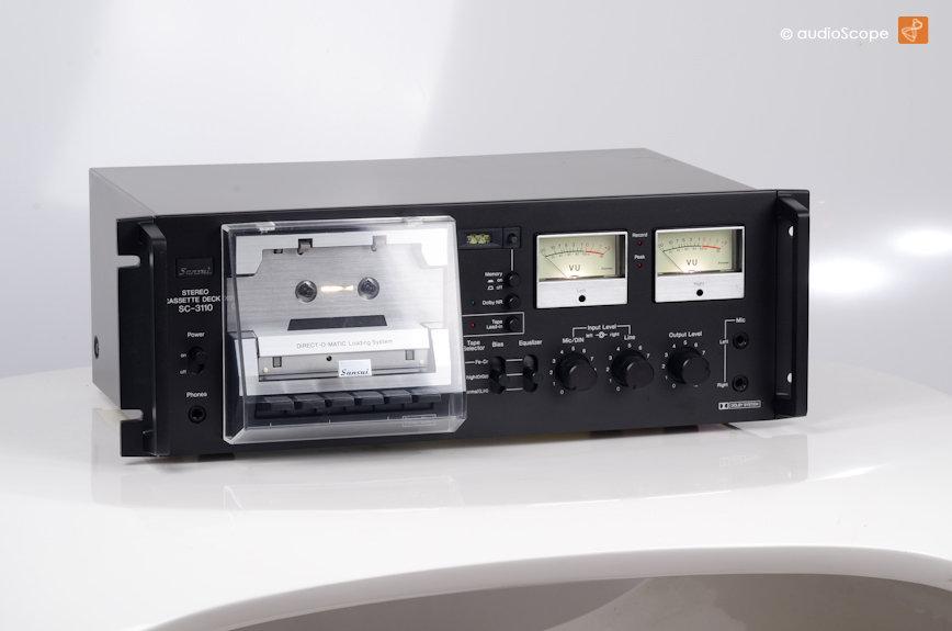 山水 SANSUI SC-3110 磁带 录音机, rare