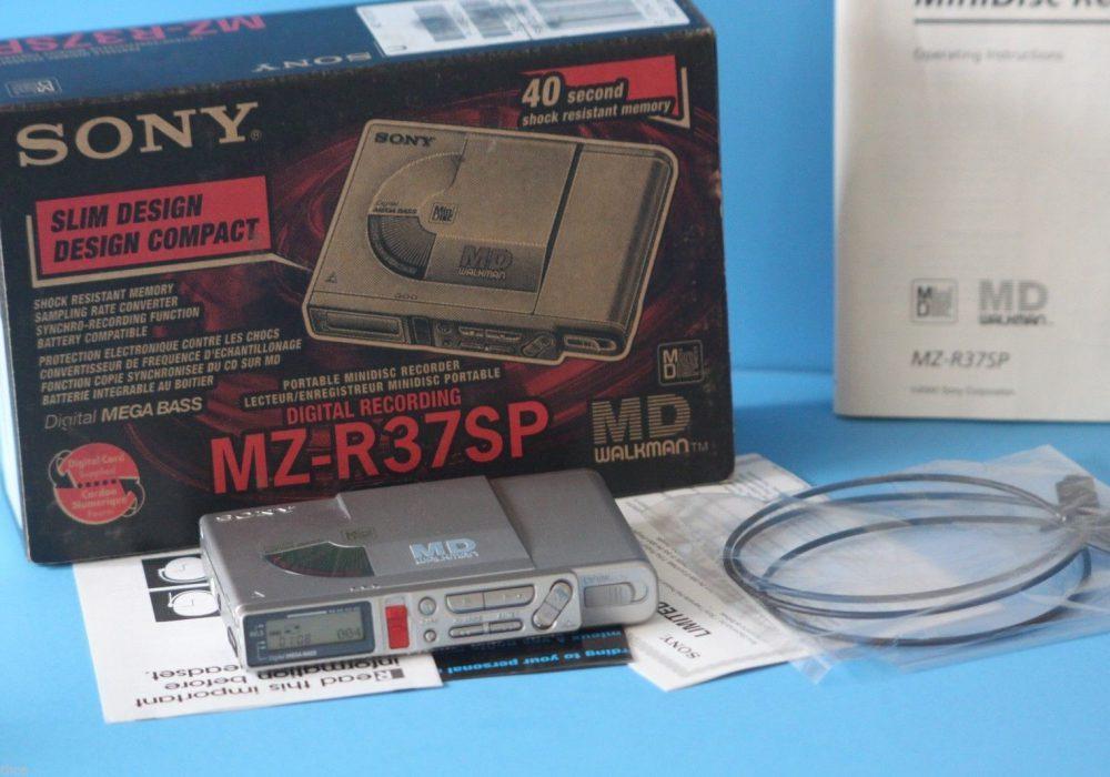 索尼 SONY MZ-R37SP  MD随身听