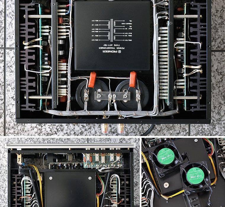 先锋 PIONEER EXCLUSIVE M4a 双表头功率放大器
