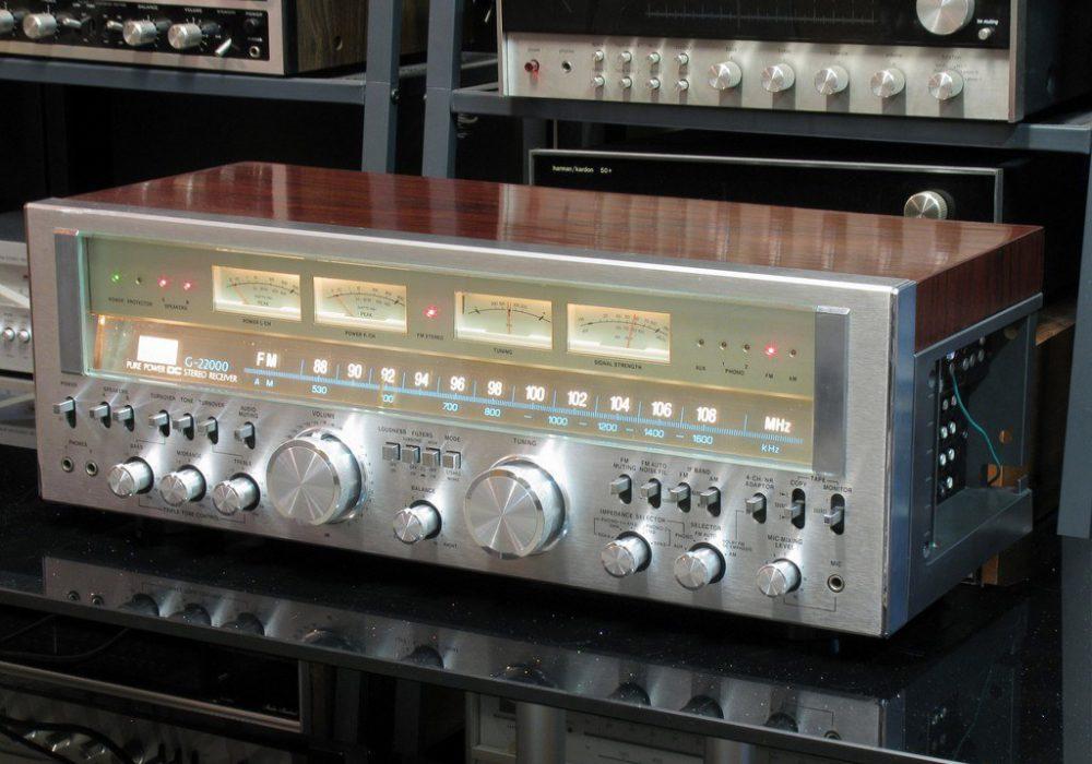 山水 SANSUI G-22000 高级四表头收扩机