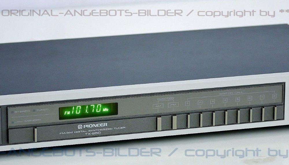 先锋 PIONEER TX-950 AM/FM 数字调谐收音头