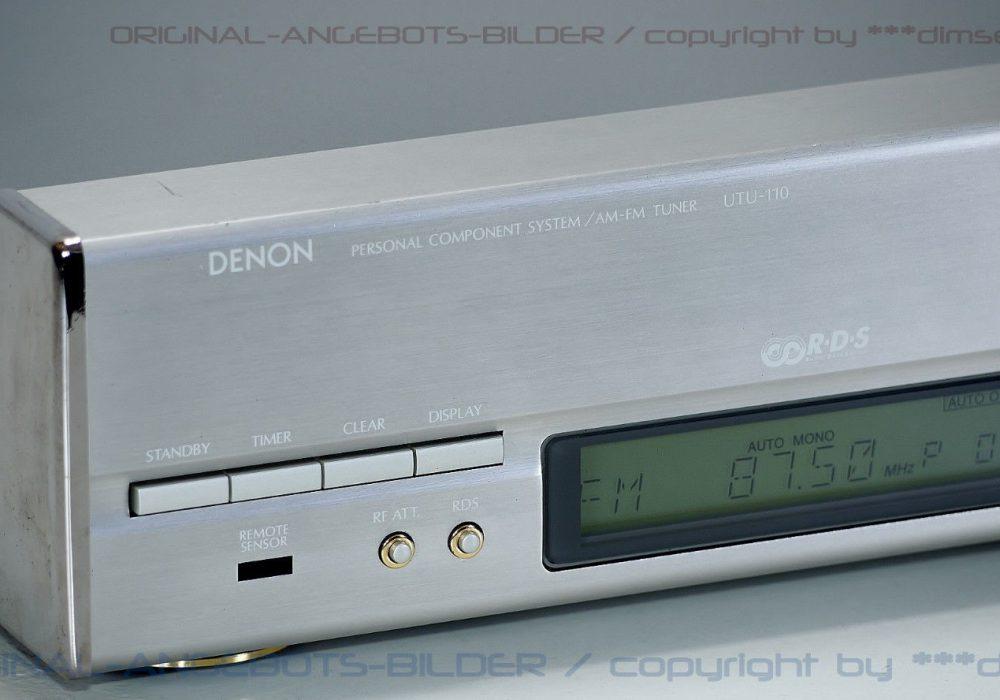 天龙 DENON UTU-110 RDS AM/FM 立体声收音头