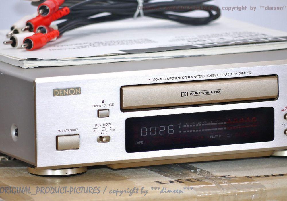 天龙 DENON DRR-F100 磁带卡座