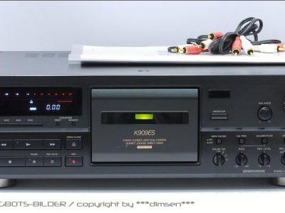索尼 SONY TC-K909ES 三磁头高级卡座