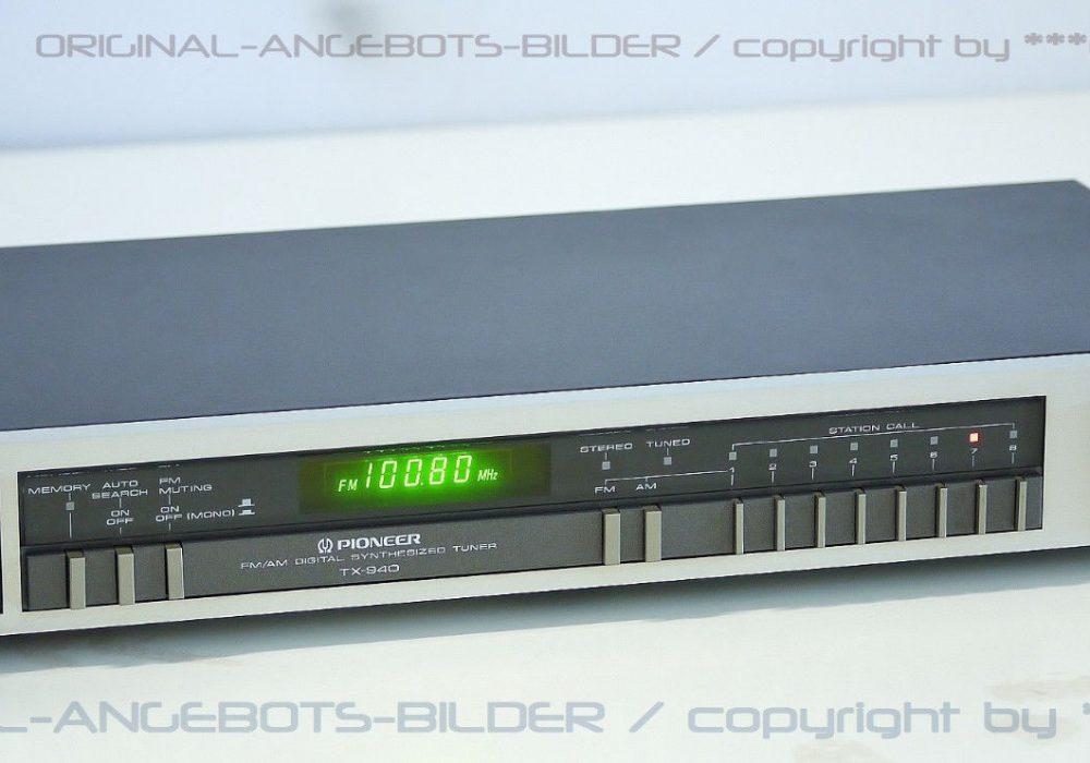 先锋 PIONEER TX-940 AM/FM 数字调谐收音头