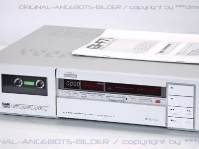 雅佳 AKAI GX-F71 磁带卡座