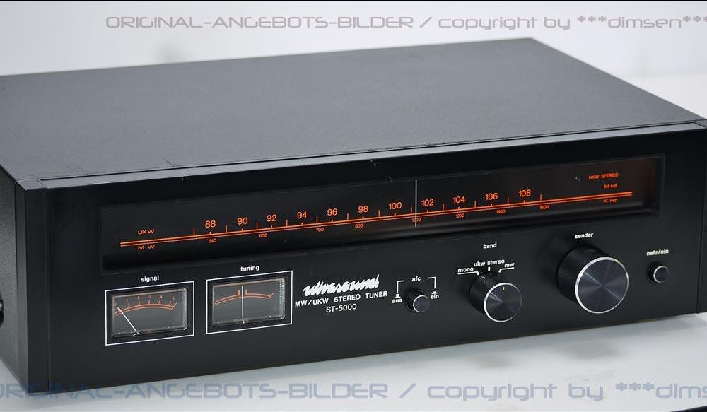 ULTRASOUND ST-5000 MW/UKW 立体声收音头