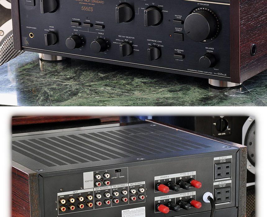 索尼 SONY TA-F555ESX 功率放大器
