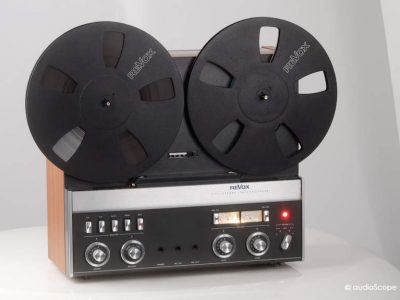Revox A77 MK4 as new, with cover
