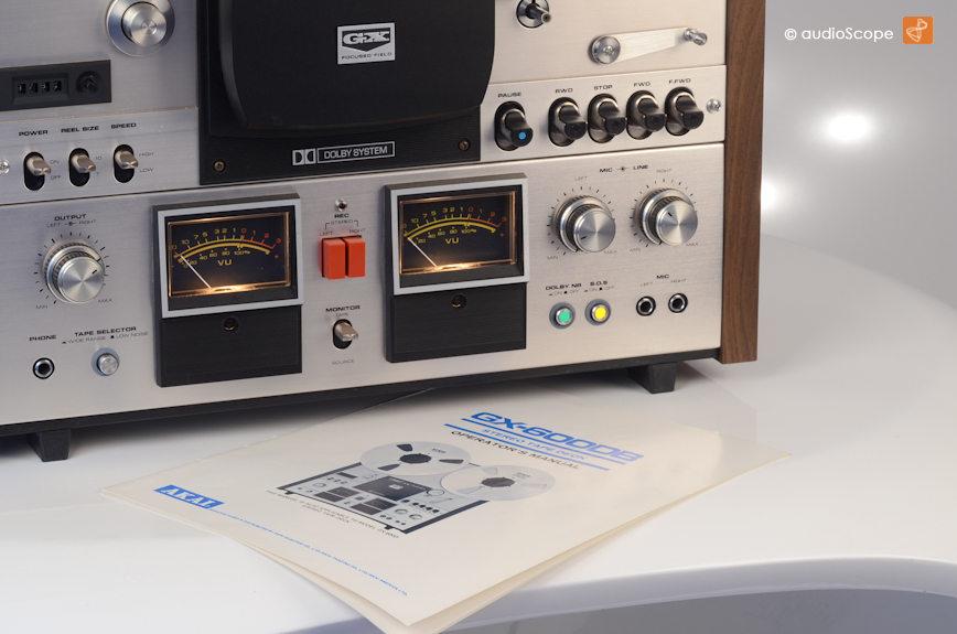 Akai GX-600 DB Dolby
