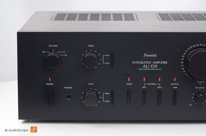 山水 SANSUI AU-D9 功率放大器
