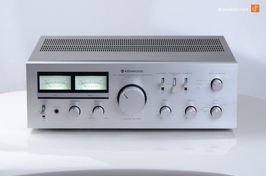 KENWOOD KA 501 Amplifier