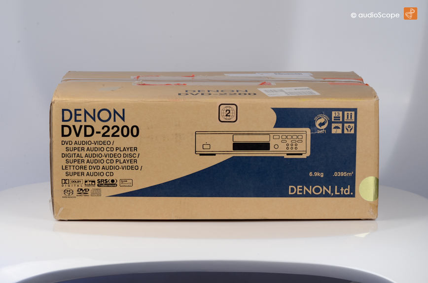 DENON DVD-2200, as new