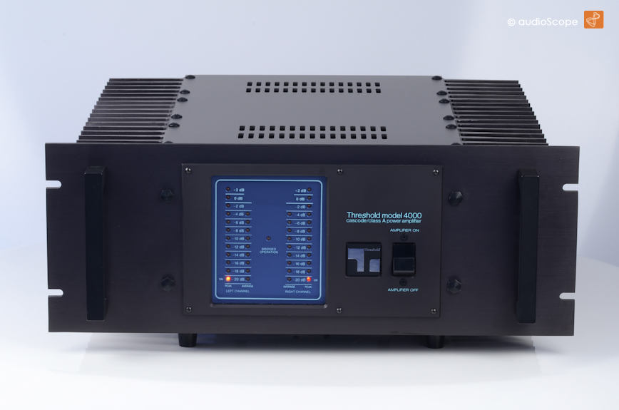 Threshold Model 4000, Class A