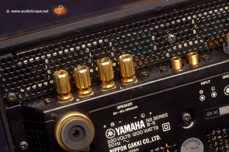 Yamaha B-6 Power Amp