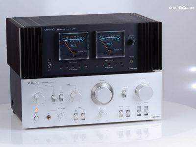 Onkyo P-8000 & M-8000