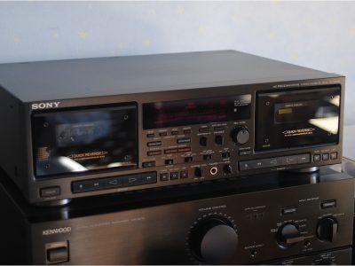 索尼 SONY TC-WR870 双卡座