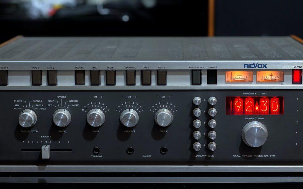 REVOX A720 收音头/前级放大器