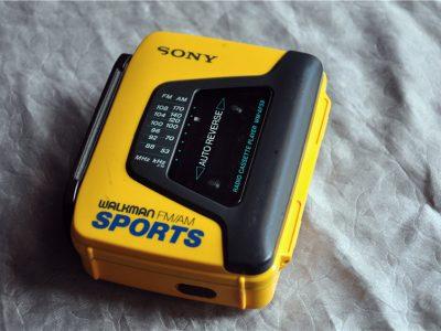 索尼 SONY WM-AF59 运动型 磁带随身听