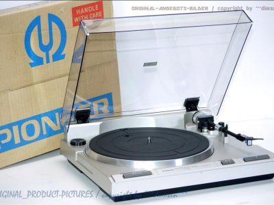 先锋 PIONEER PL-740 黑胶唱机 + AT-VM8 唱臂
