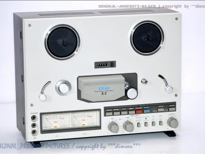 TEAC X-3 开盘机