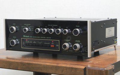 麦景图 McIntosh C34V 前级放大器