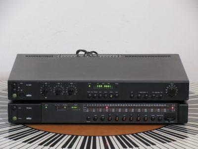 BRAUN A501 功放 + TS501 收音头