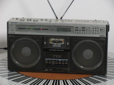 夏普 SHARP GF-9595H 单卡收录机