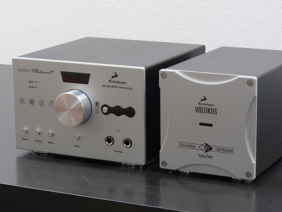 Antelope Zodiac Platinum + VOLTIKUS DSD DAC解码器