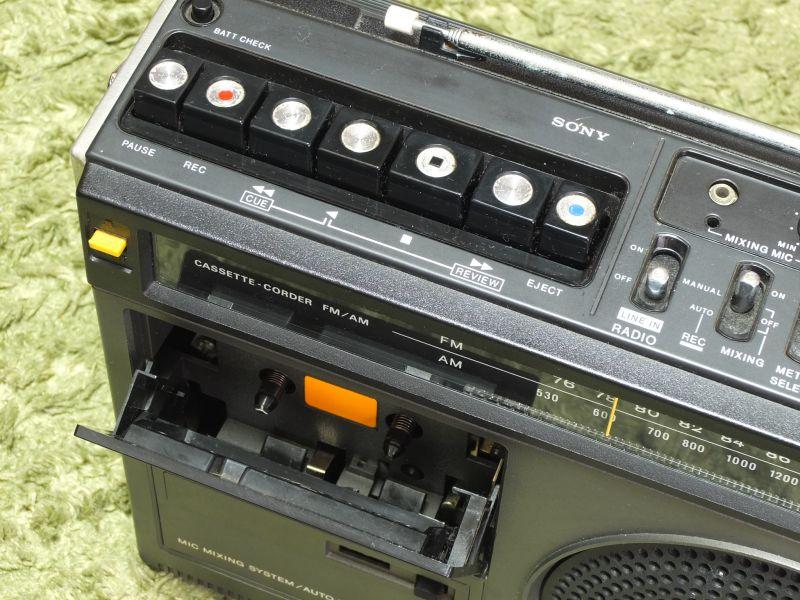 索尼 SONY CF-1980 单卡收录机