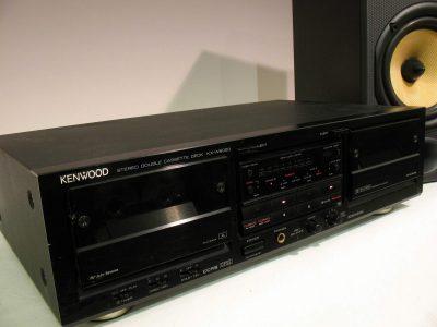 建伍 KENWOOD KX-W6020 双卡座