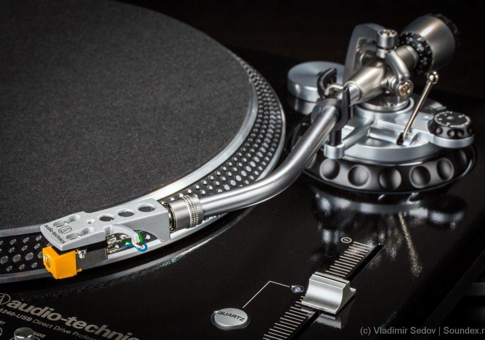 铁三角 audio-technica AT-LP1240USB 直驱 黑胶唱机