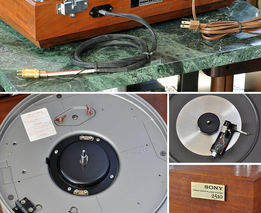 索尼 SONY PS-2510 黑胶唱机
