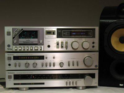 松下 Technics RS-M215卡座 + SU-Z11功放 + ST-Z11L收音头 音响组合