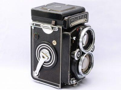 Rolleiflex 2.8F xenotar 胶片相机
