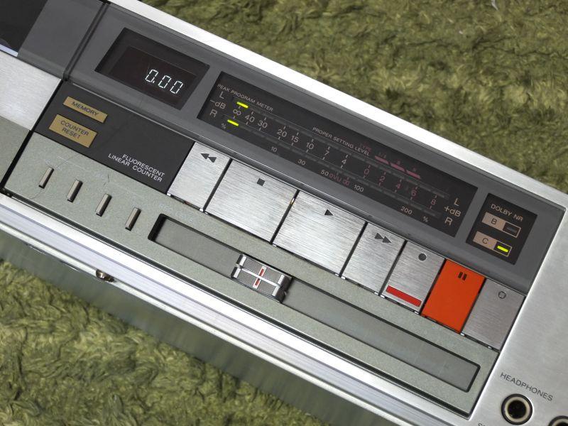 索尼 SONY TC-FX66 二磁头卡座