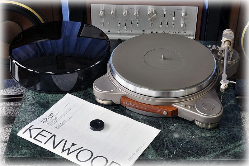 建伍 KENWOOD KP-07M 黑胶唱机