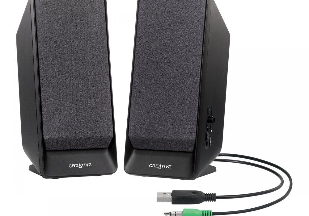 创新 Creative SBS A50 USB-powered 2.0 Desktop Speakers