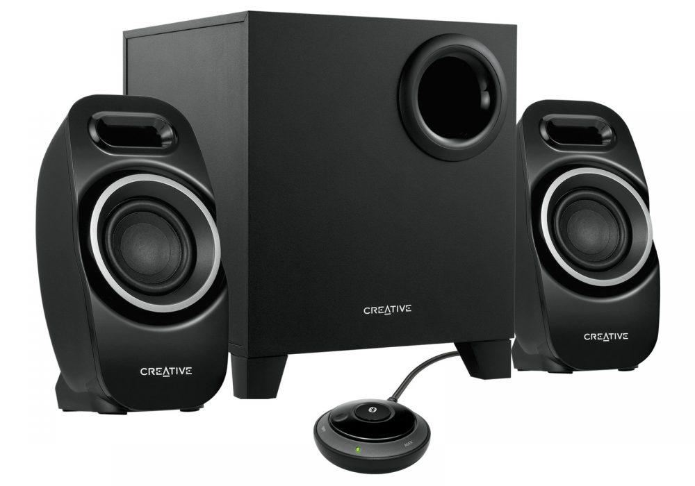创新 Creative Creative T3250 Wireless 2.1 Bluetooth Wireless Desktop Speaker System