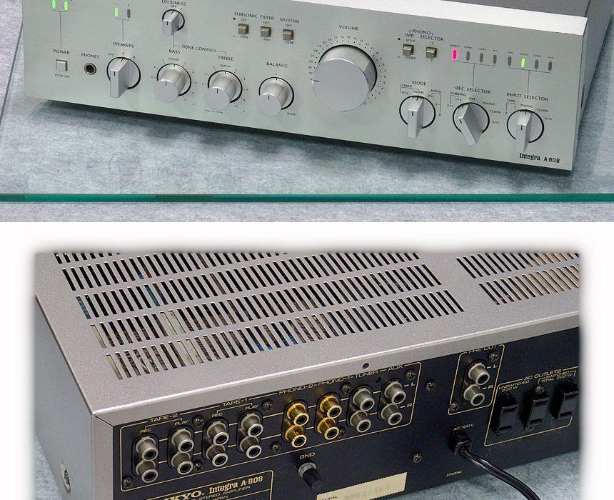 安桥 ONKYO Integra A-808 功率放大器