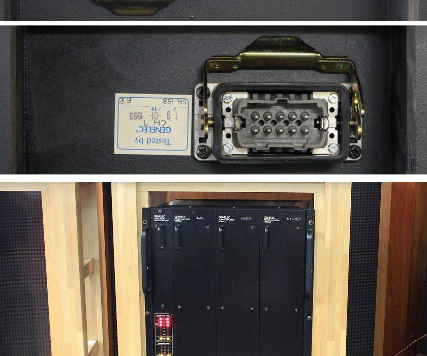 真力 GENELEC 1033A 专业有源监听音箱