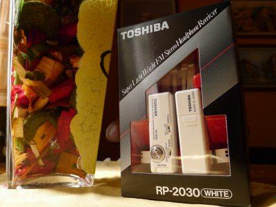 TOSHIBA RP 2030 NUEVO 耳机式收音机