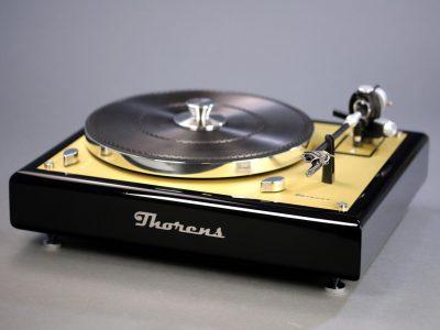 多能士 Thorens TD 145 MKII 黑胶唱机