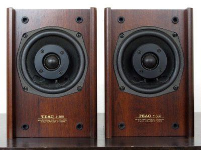 TEAC S-300 小型书架音箱 全频音箱