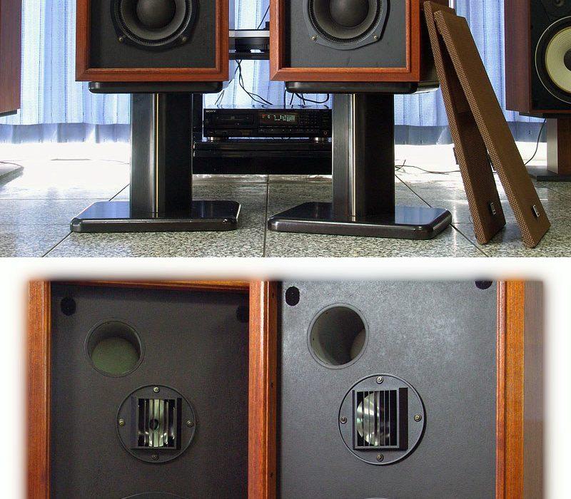 日立 Lo-D HS-500 书架音箱