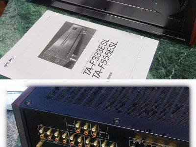 索尼 SONY TA-F555ESL 功率放大器