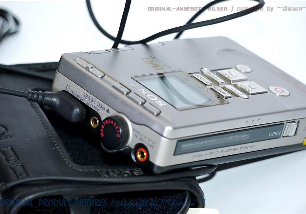 索尼 SONY TCD-D100 DAT随身听